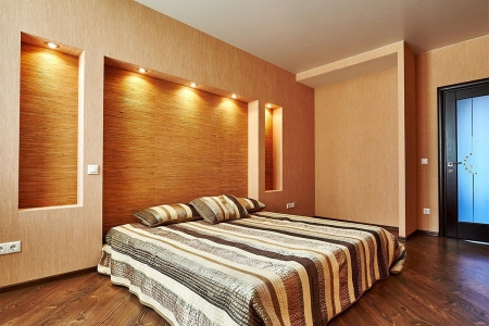 Спальня, ремонт в новостройке