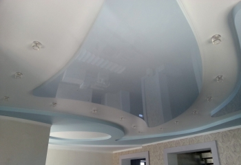 Натяжные и подвесные потолки