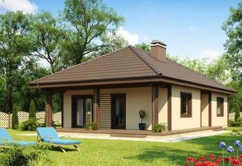 Дом в европейском стиле  93 м.кв.  /  3 к. без гаража Севастополь