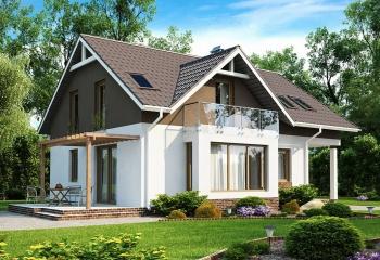 Каркасный дом с жилой мансардой / 155 м.кв. / 5 к. в Севастополе