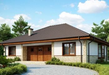 Бюджетный каркасный дом 132 м.кв. / 4 к. в Севастополе проект
