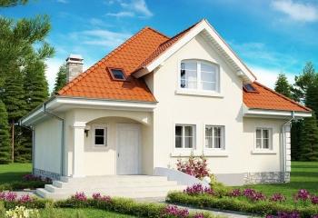 Дом в европейском стиле 165 м.кв / 5 к.  в Севастополе проект